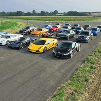 Supercar Collection Thrill Experience