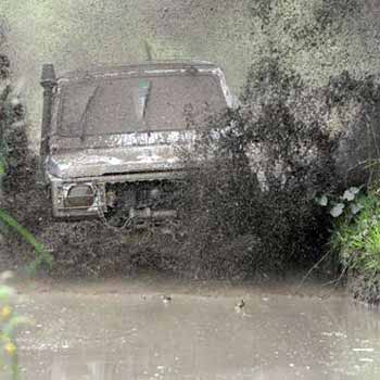 4x4 Extreme Experience in Shropshire