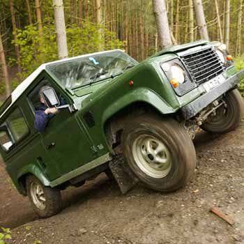 4x4 Activity day Off Road Challenge in Kent