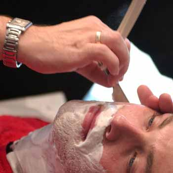 Mens Cut Throat Shave Experience, Manchester