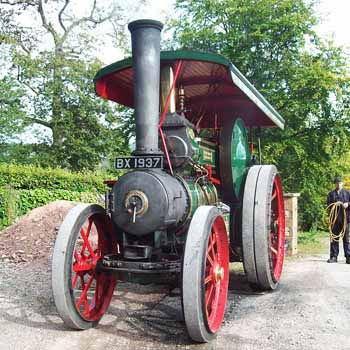 Traction Engine Driving In Cumbria Picture