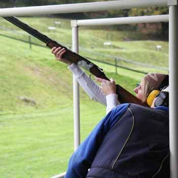 Clay Pigeon Shooting In Devon Picture