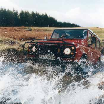Off Roading Experience Scotland