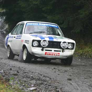 Rally Driving Experience in Powys