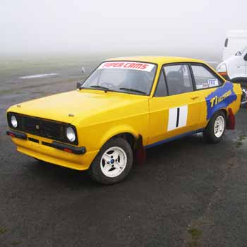 Escort RS2000i Rallying Yorkshire