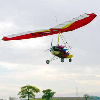 Microlights in Staffordshire