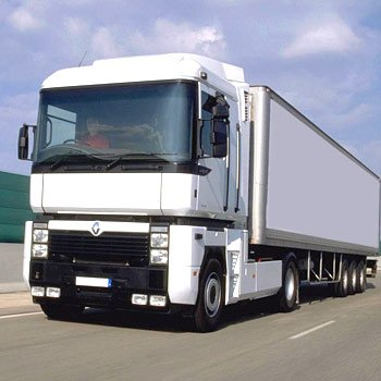 Articulated Lorry Driving