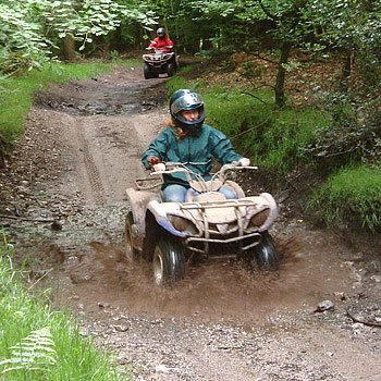 Quads in Devon