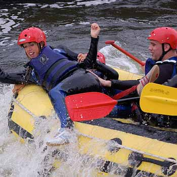 White Water Rafting Experiences in the UK from Into The Blue