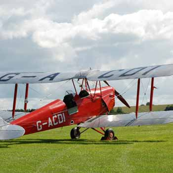 Tiger Moth Wiltshire Picture