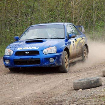 Escort Rs2000 And Impreza Wrx Gravel Rally Picture