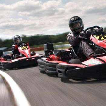 Outdoor Karting in Lancashire