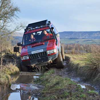 Junior 4x4 Driving Scotland