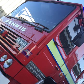 Fire Engine Driving Picture