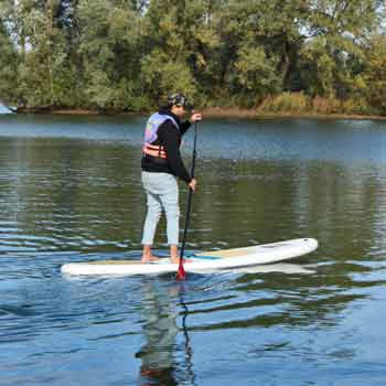 Paddleboarding in Bedfordshire