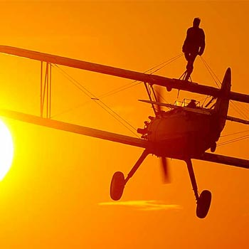 Wing Walking for Charity