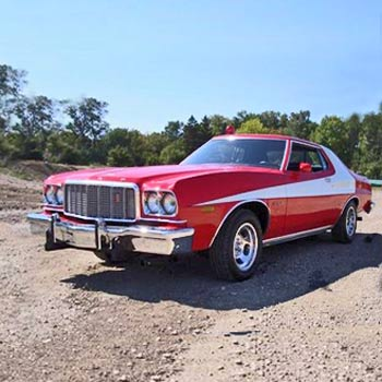 Starsky and Hutch Ford Torino Drive
