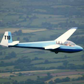 Gliding Experiences over the Black Mountains