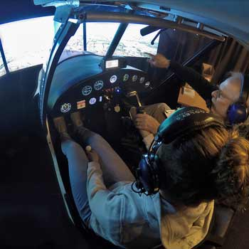 Flight Training Simulator Hampshire Picture