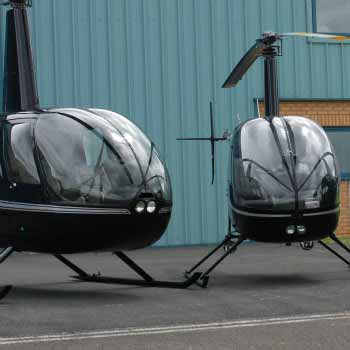 Helicopter Lessons In Gloucestershire Picture