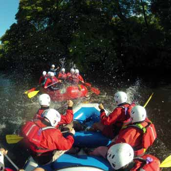 Exclusive White Water Rafting Peak District
