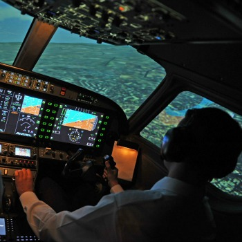 Commercial Jet Simulator