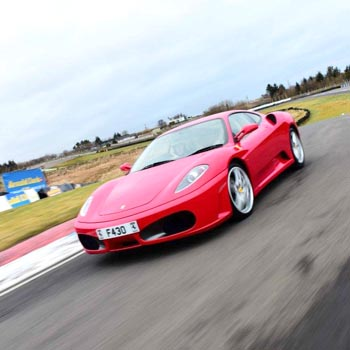 Ferrari 430 In Scotland Picture