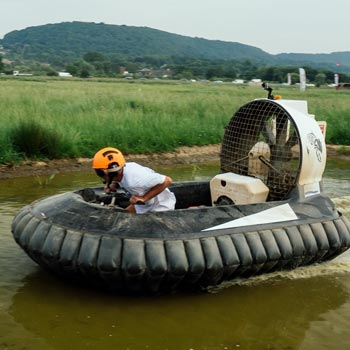 Hovercraft Racing In Cheshire Picture