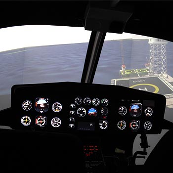 Helicopter Simulator London Picture