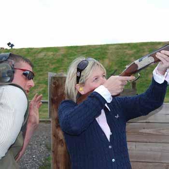 Shooting Clays in Dorset