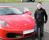 Junior Supercar Experience for Kids