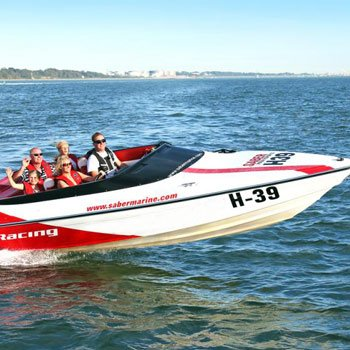 Racing Powerboat In Hampshire Picture
