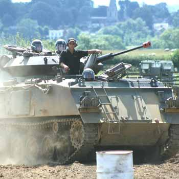 Tank Battles In Leicestershire Picture