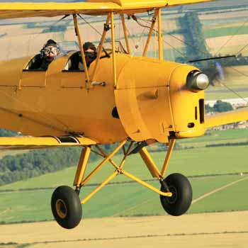 Tiger Moth Flights Duxford Picture