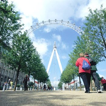 London Eye & Pizza Express Meal for Two