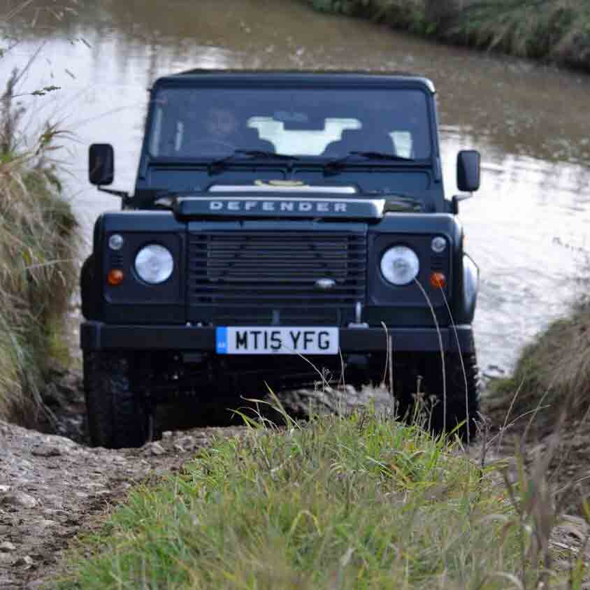 Land Rover 4x4 Fun at Coniston Hall