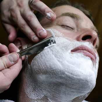 Traditional wet shaving london