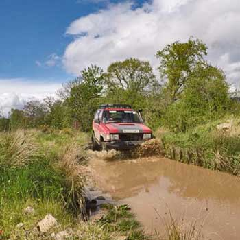 Driving Experiences 4x4 in Stirlingshire