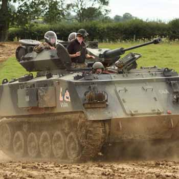 Tank Driving in Leicestershire