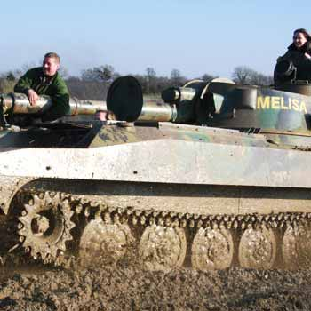 Tank Driving In Northants