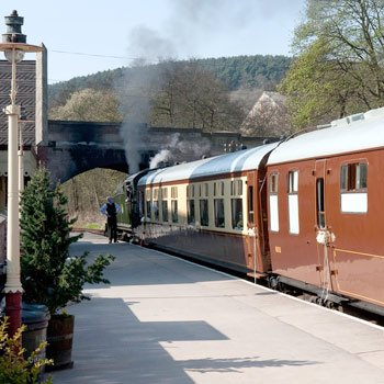 Churnet Valley Railway Steam Train Lunch for Two