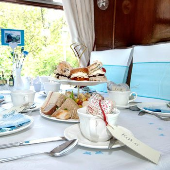 Afternoon Tea for Two on The Churnet Valley Railway