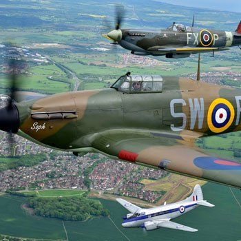 Spitfire & Hurricane Dual Fighter Experience