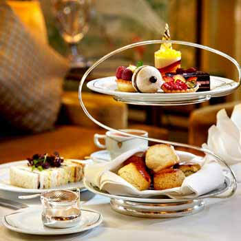 Palm Court Tea in Mayfair