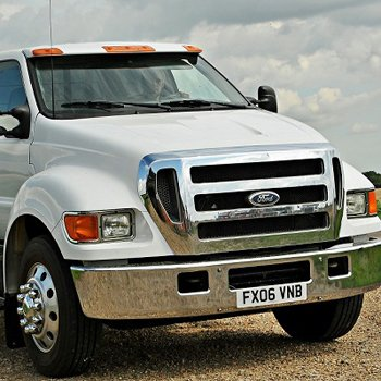 Driving Ford F650 Supertruck Drive