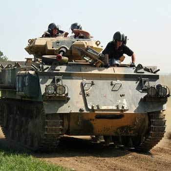 Tank Driving Experience & Military Vehicle Fun Days across the UK