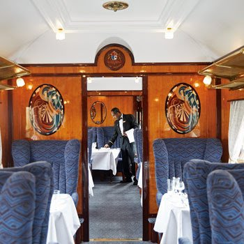Brunch on the Belmond British Pullman London