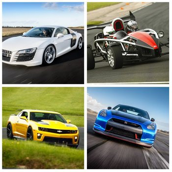 Supercar Choice With Hotlap Picture