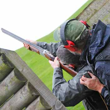 Clay Pigeon Shooting In Cheshire Picture