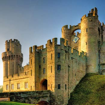 Warwick Castle & Afternoon Tea for Two